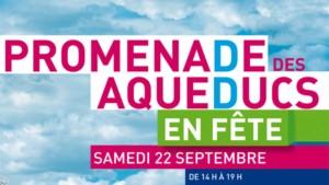Inauguration de la Promenade des Aqueducs - Samedi 22 Septembre