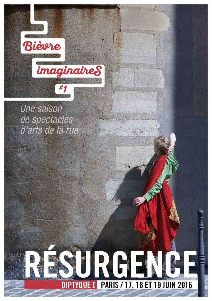 Diptyque I _ Résurgence _ 17, 18 et 19 juin 2016 _ Paris 13ème
